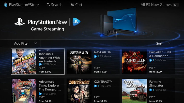 PlayStation Now not coming to
