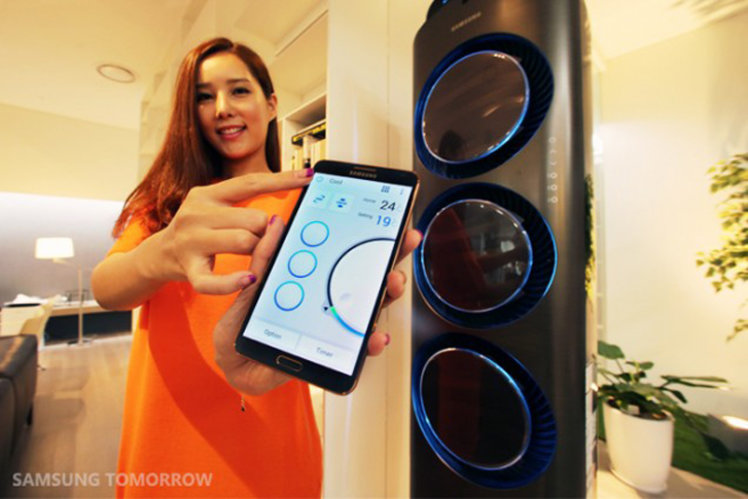 Samsung Smart Home lets you S