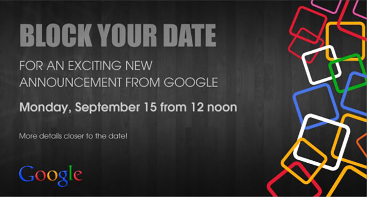 Google Indian invite hints at