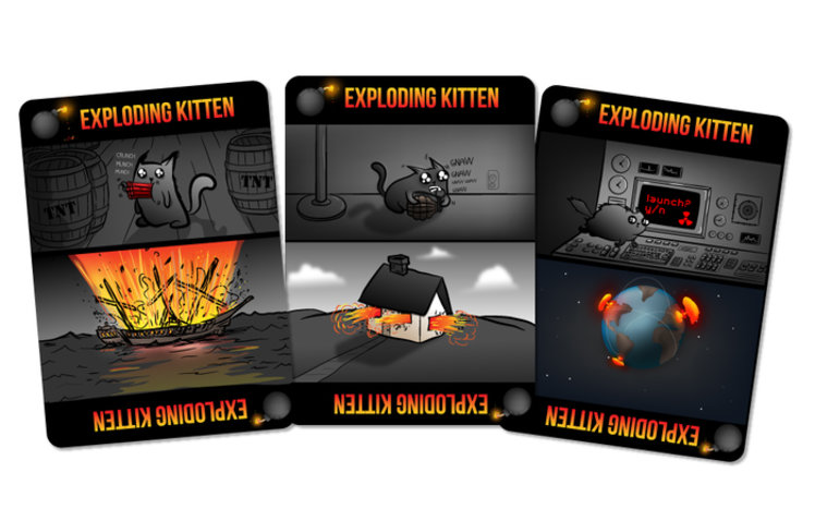 Exploding Kittens is the most