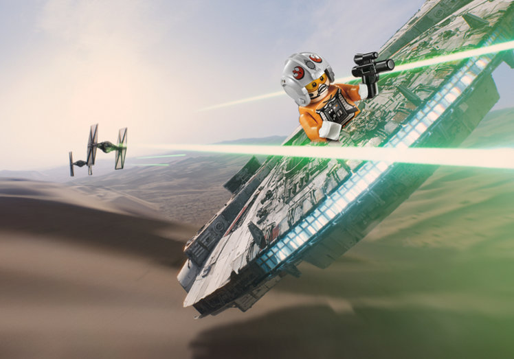 Disney and Lego team up to