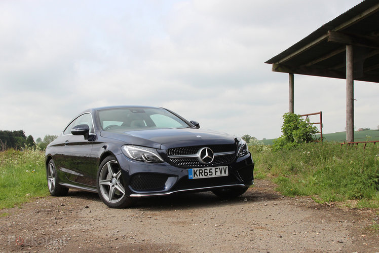 mercedes benz c220d amg line coupe first drive covering all bases. Black Bedroom Furniture Sets. Home Design Ideas