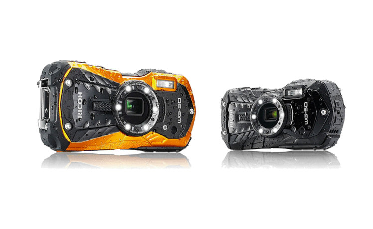 Ricoh's new compact camera is waterproof, shockproof, and freezeproof