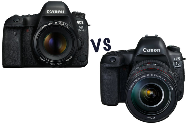Canon EOS 6D Mark II vs 5D Mark IV: What\'s the difference and which ...