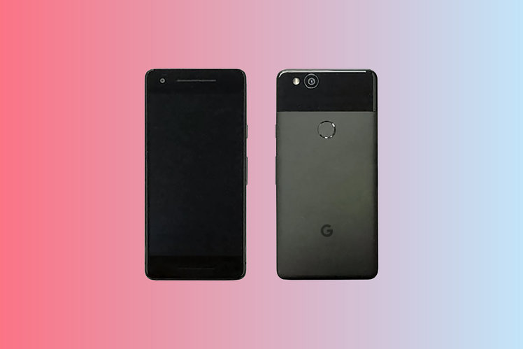 Google Pixel 2 pops up in leaked image with bezels, no dual cameras