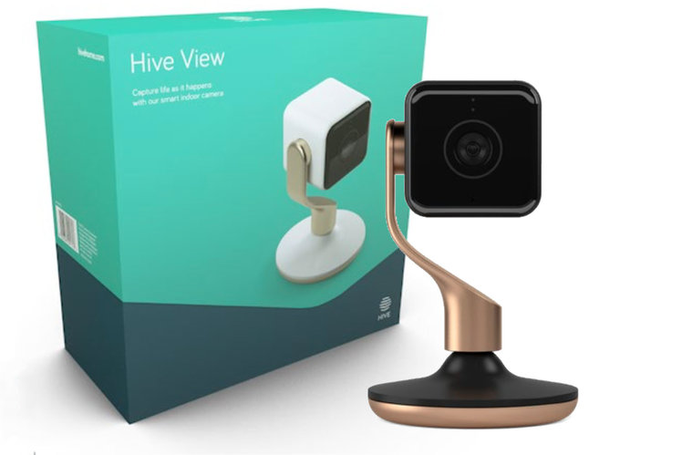 Hive View camera detects movement or sound to keep your Hive home safe