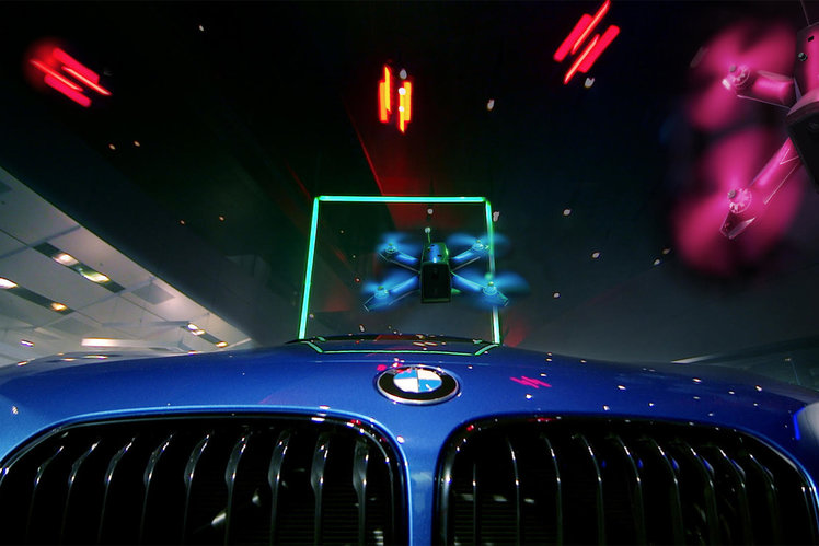 BMW partners with Drone Racing League to build the fastest drone ever