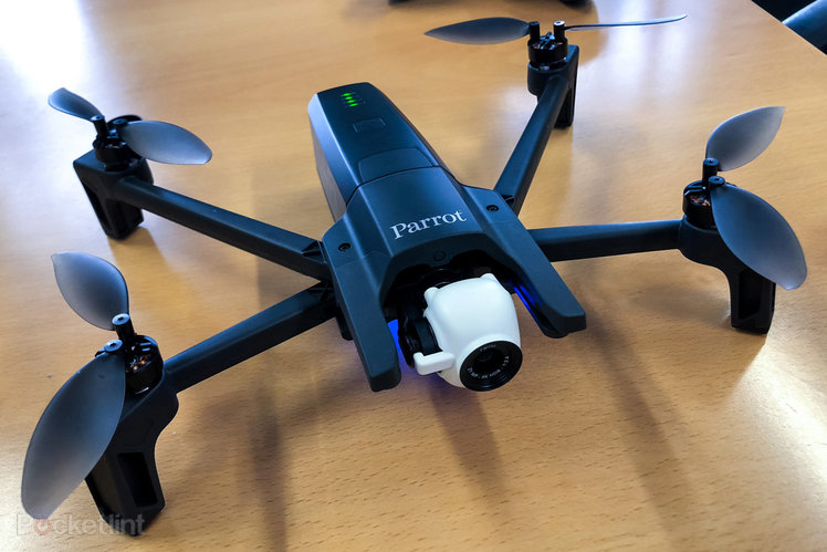 Parrot Anafi portable drone revealed
