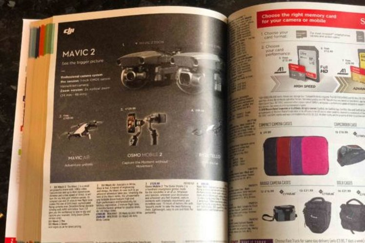 New high-end DJI Mavic 2 drones