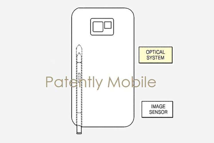 Looks like the Galaxy Note 10's S-Pen will have a camera in it