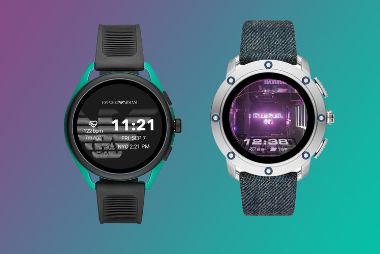 Fossil expands smartwatch line-up with Diesel and Emporio Armani models