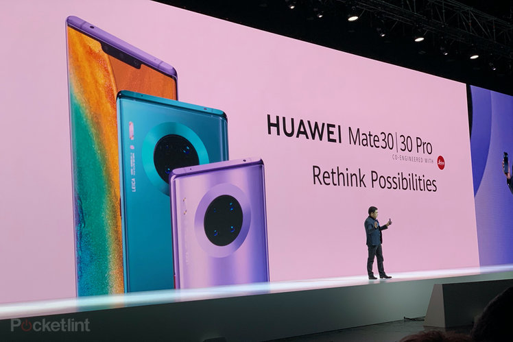 Huawei intros the Mate 30 Series including the 5G Mate 30 Pro
