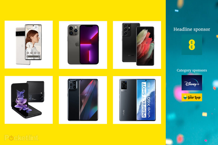 Here are the EE Pocket-lint Awards nominees for Best Flagship Phone 2021 and how to vote
