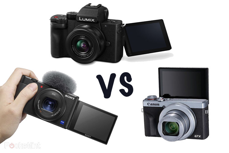 Best camera for vlogging? Panasonic G100 vs Sony ZV-1 vs Canon G7 X III