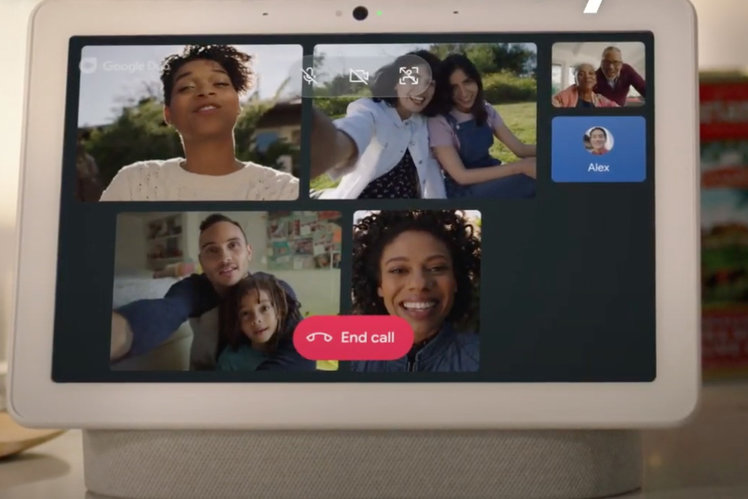 How to make Google Duo or Google Meet group video calls on a Nest Hub Max