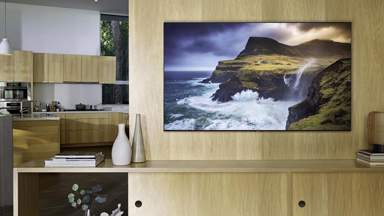 This 75-inch Samsung QLED TV