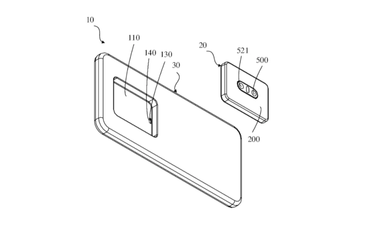 Oppo might make a phone with a completely detachable camera unit