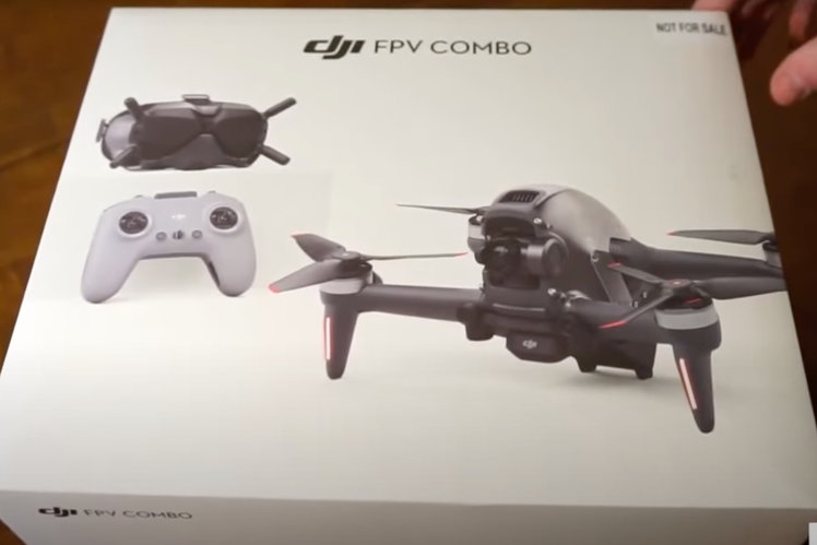 DJI FPV drone unboxed ahead of launch, reveals all