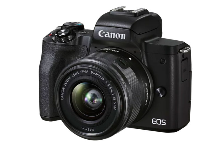 Canon's EOS M50 Mark II mirrorless camera can shoot vertical video
