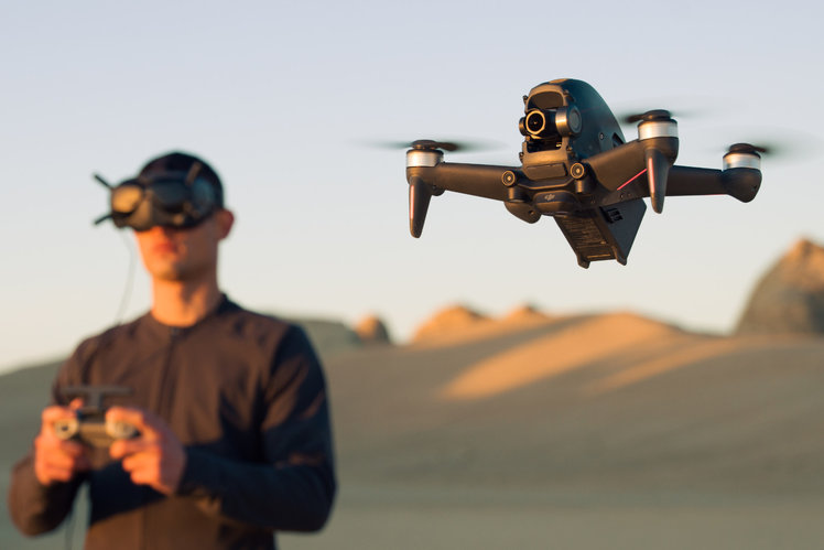 DJI FPV is a fast, nimble drone and can do 0-60 in 2 seconds