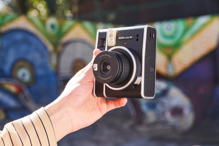 Fujifilm's Instax Mini 40 is a stylish update for the instant camera line