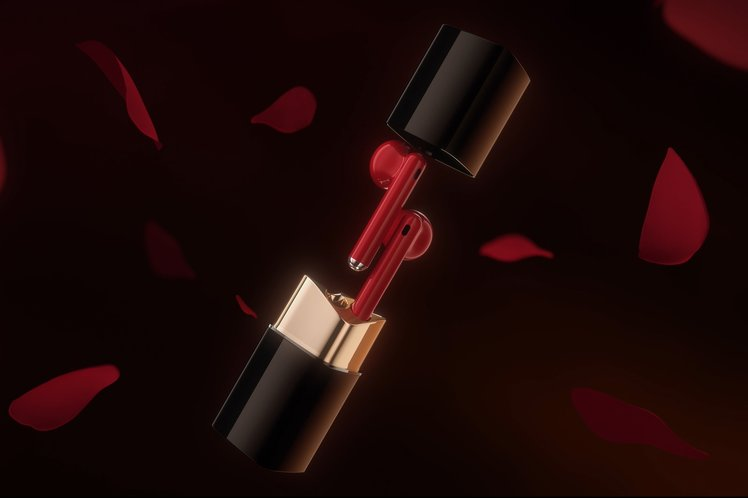 Huawei has released a pair of Freebuds that looks like lipstick, no really!