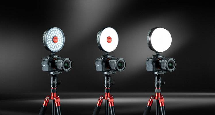 Rotolight on-camera lights are app-controlled and super bright