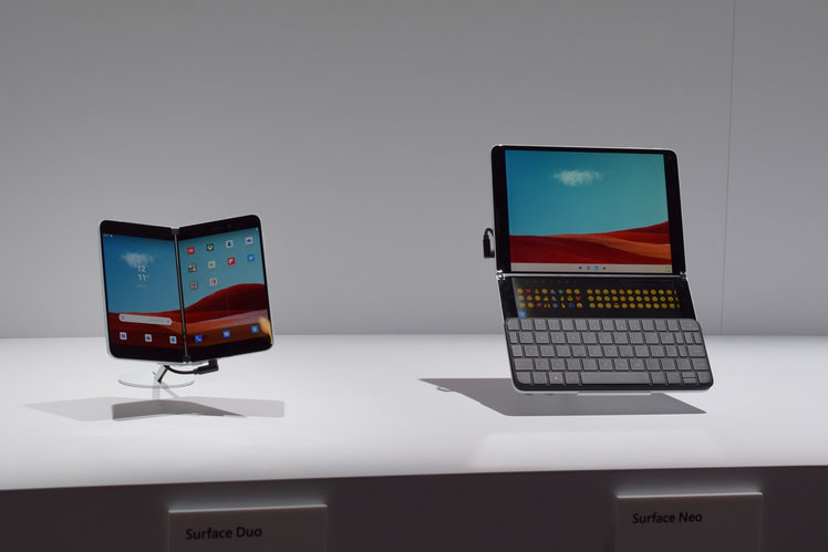 First look: Microsoft Surface Neo and Surface Duo - what to expect from the dual-screen tablets