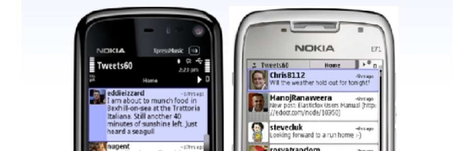 First five    Symbian apps to download