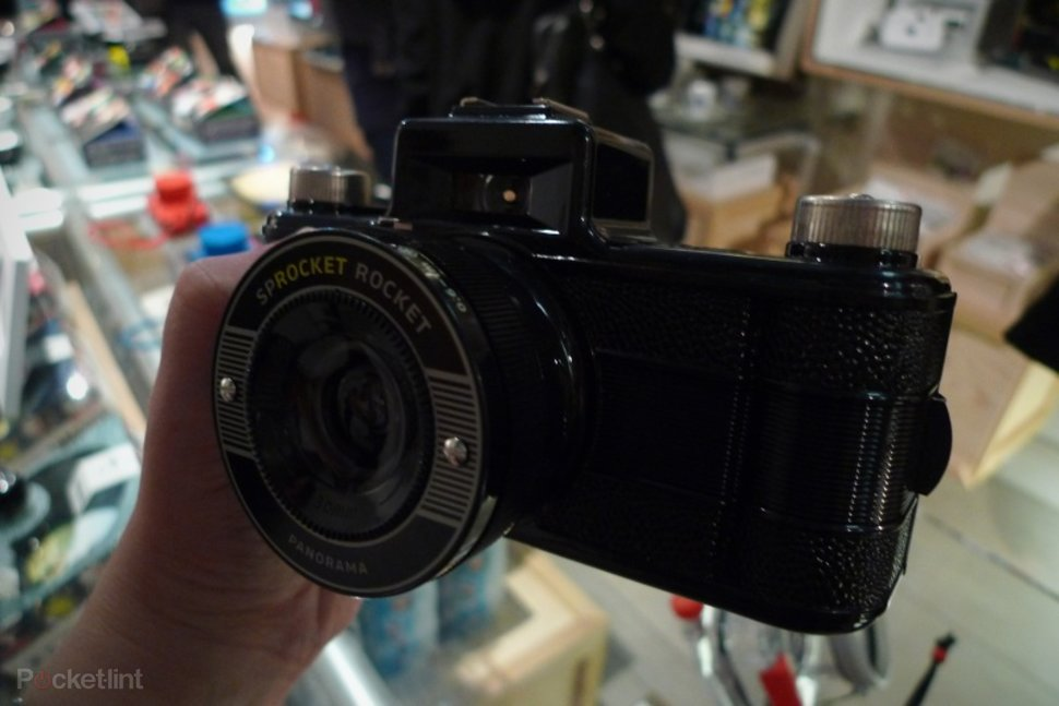 Sprocket Rocket Camera : Lomography sprocket rocket camera hands on