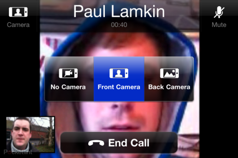 Skype iPhone video calling hands-on