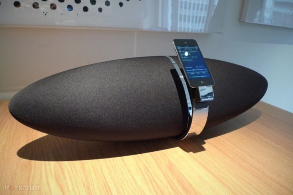 Alexa Bluetooth Speaker >> Bowers & Wilkins Zeppelin Air hands-on