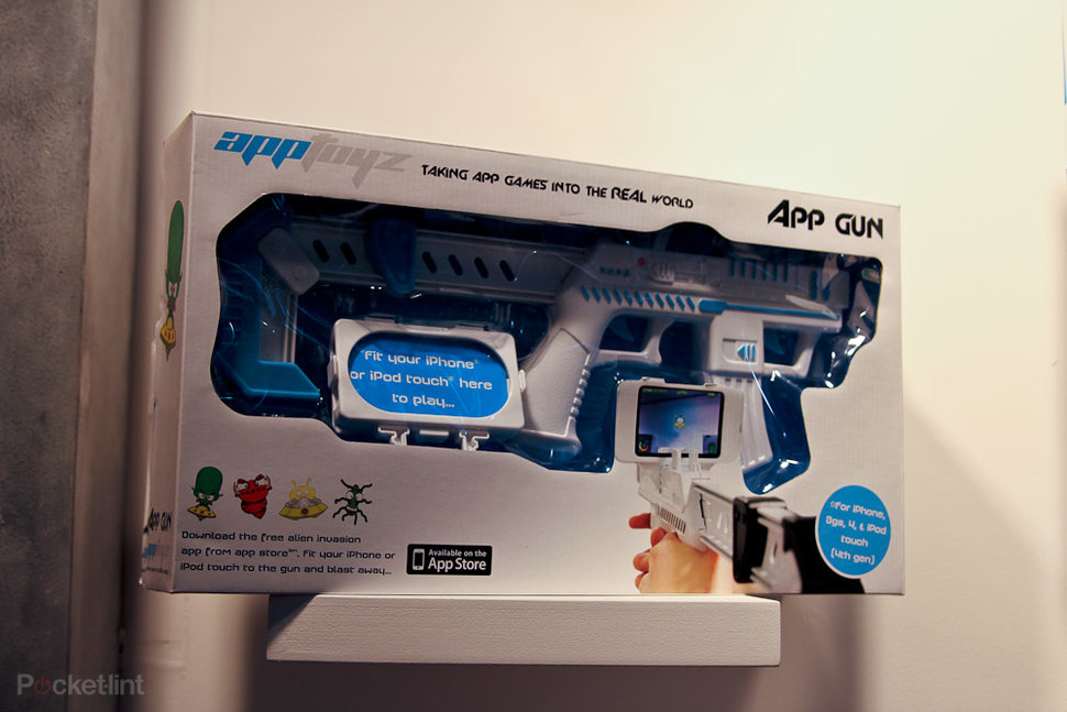 AppBlaster: New toy turns iPhone into an AR gun - Pocket-lint