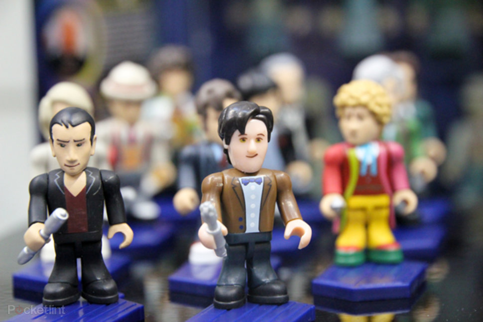 doctor who character building figures like timelord shaped lego minifigs image 1