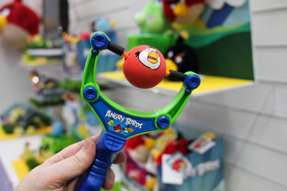 angry birds invade toy fair including official catapult image 1