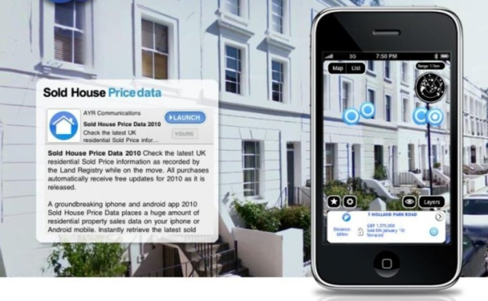 Augmented reality in action - property and real estate - Pocket
