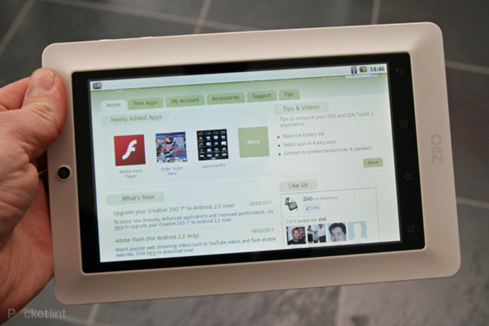Creative ZiiO 7 Android 2 2 update arrives on schedule - Pocket