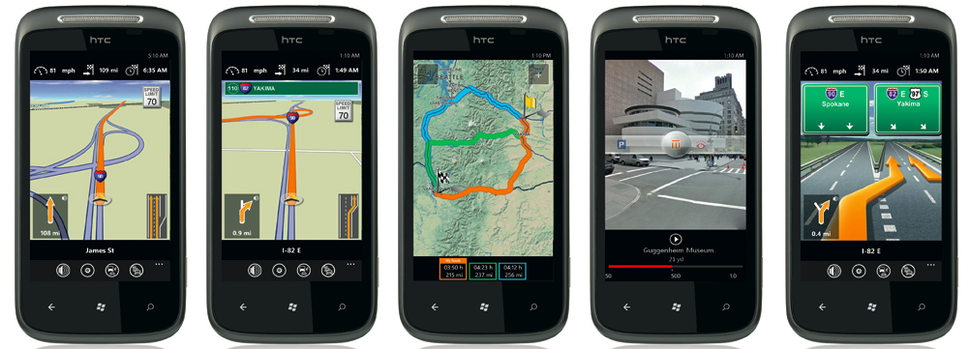 Navigon updates iPhone and Android apps, Windows Phone 7 on its