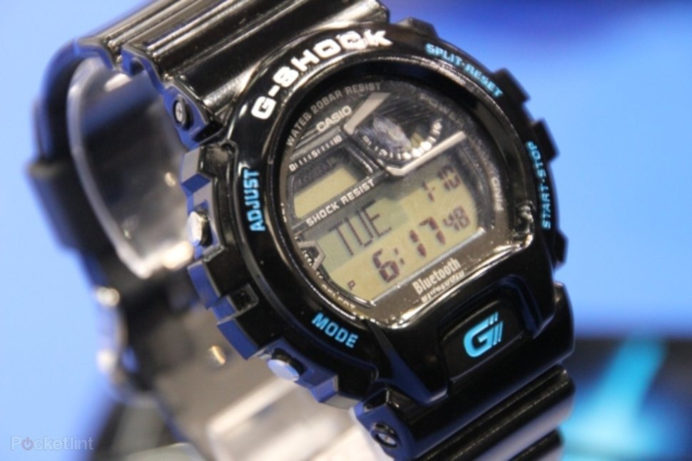 Casio G-Shock GB-6900 Bluetooth watch pictures and hands-on - Pocket ... 3697337d1db