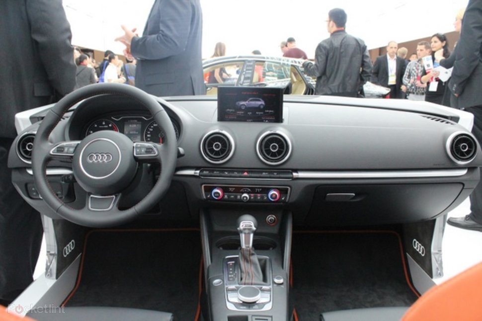 Audi A3 interior pictures and hands-on