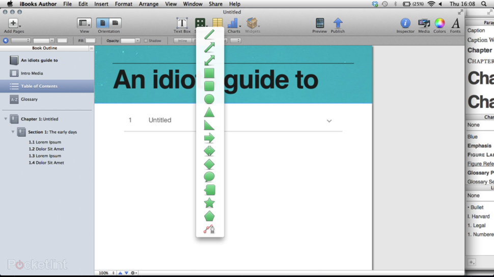 APP OF THE DAY: iBooks Author review (Mac OS X) - Pocket-lint