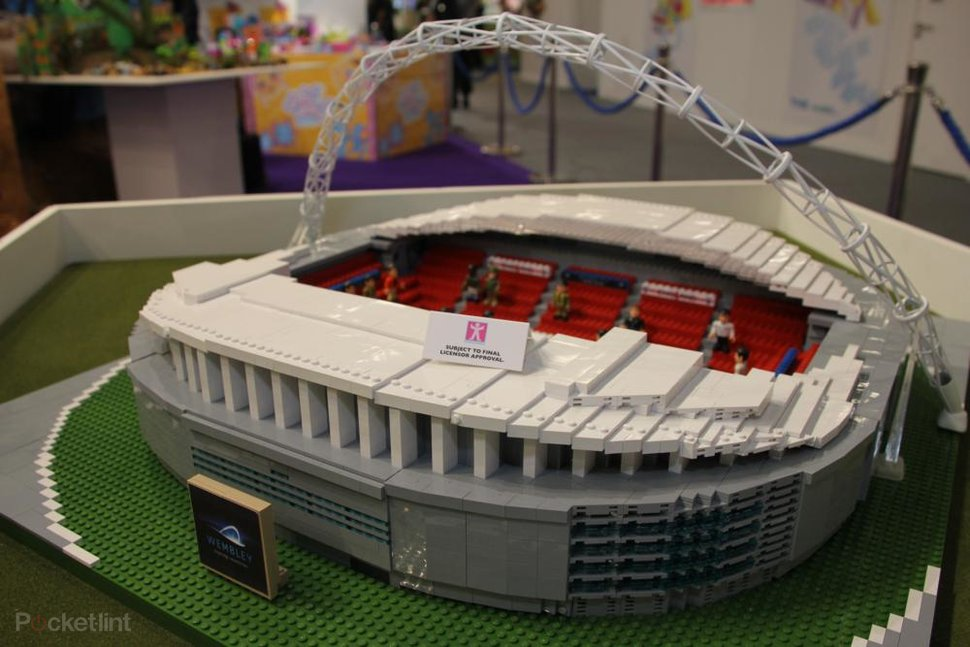 Character Building Wembley Stadium offers Lego-style footy fun ...
