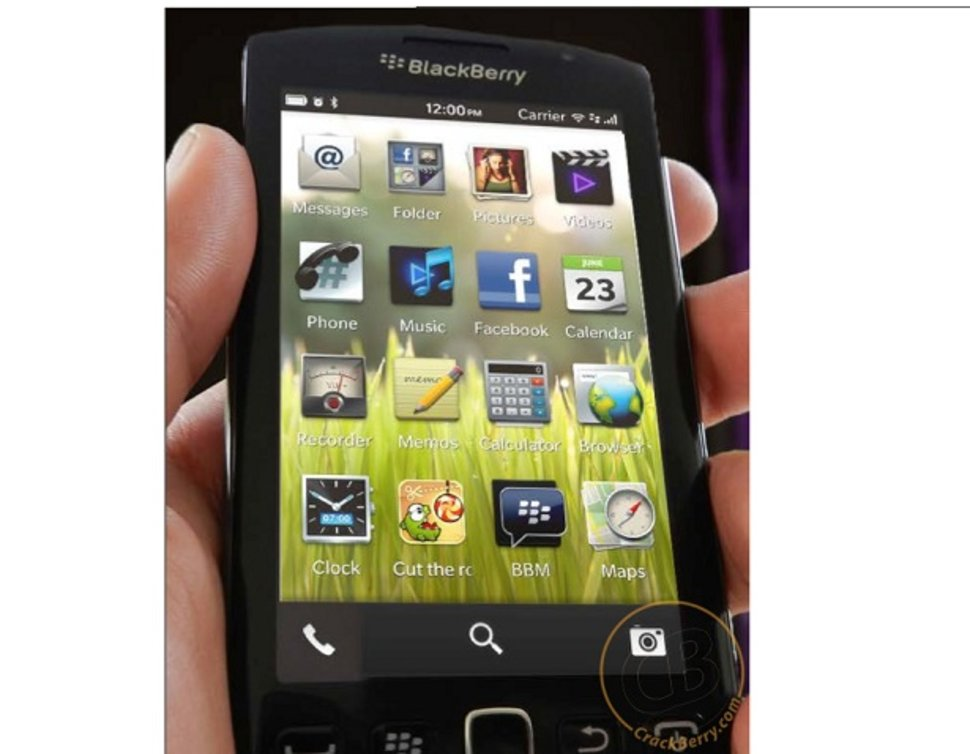 BlackBerry OS 10 images leaked