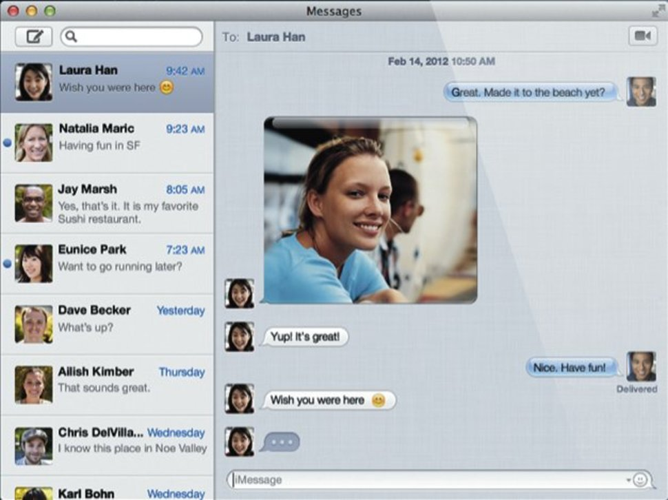 ichat to imessage