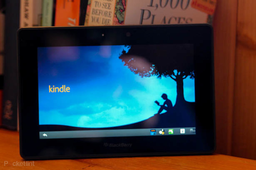 How to turn your BlackBerry Playbook into a Kindle Fire - Pocke