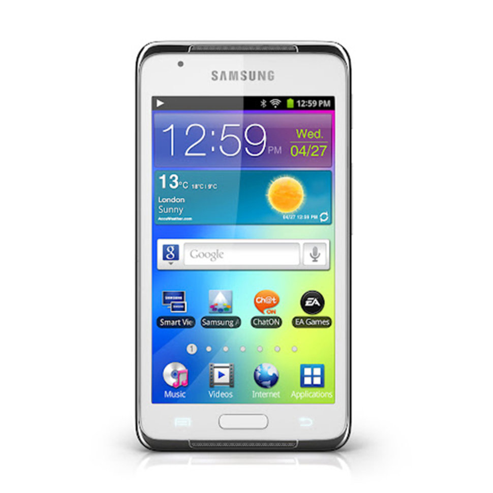 Samsung Galaxy S WiFi 4 2: Android media player pitched at game