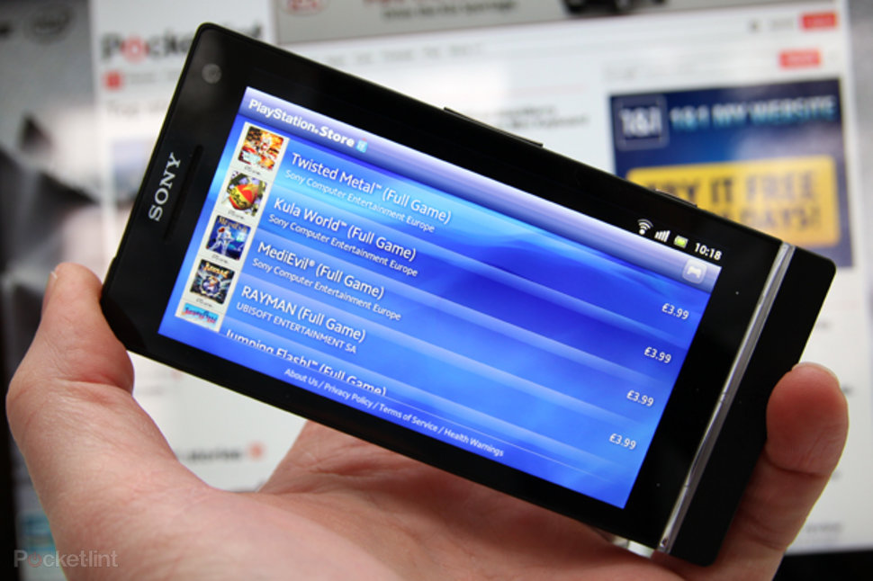 playstation store lands on sony xperia s psone gaming is a go  image 1