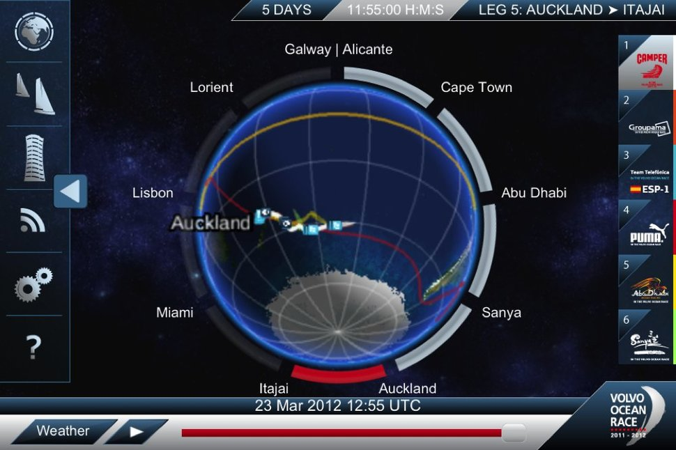 Volvo Ocean Race: The app that lets you track the action - Pock