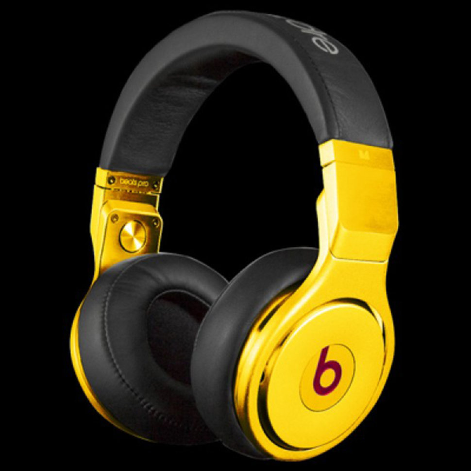 beats by dre gold pro the image kid has it. Black Bedroom Furniture Sets. Home Design Ideas