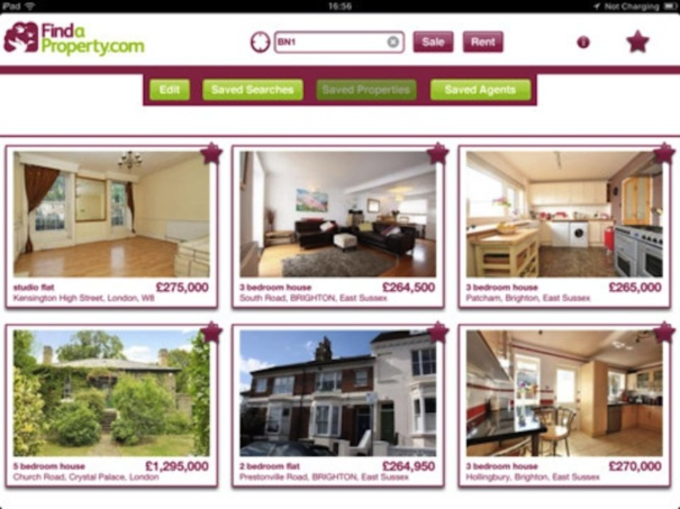 Findaproperty com iPad app taking the stress out of moving hous